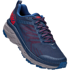 Hoka One One Challenger ATR 5 Schoenen Heren, dark blue/high risk red